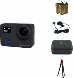 Набор блогера 12 в 1 экшн-камера AirOn ProCam 8 Black с аксессуарами (4822356754795)