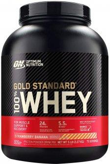 Протеин Optimum Nutrition 100% Whey Gold Standard 2.27 кг Strawberry Banana (748927029864)