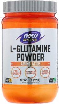 Аминокислота NOW L-Glutamine 454 г (733739002211)