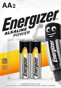 Батарейка Energizer Alkaline Power AA 2 шт (7638900297416)