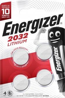 Батарейка Energizer Lithium CR2032 4 шт (7638900377620)