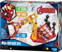 Гидравлическая мегарука (набор для сборки) 4M Disney Ironman Железный человек (00-06214)