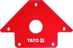 Магнитная струбцина для сварки YATO 102 х 150 х 17 мм Ø18 мм 22.5 кг (YT-0864)