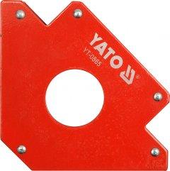 Магнитная струбцина для сварки YATO 122 х 190 х 25 мм Ø46 мм 34 кг (YT-0865)