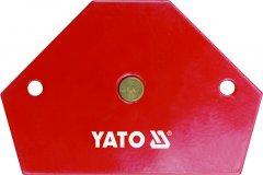 Магнитная струбцина для сварки YATO 64 х 95 х 14 мм 11.5 кг (YT-0866)