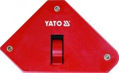 Магнитная струбцина для сварки с переключателем YATO 85 х 139 х 25 мм 13.5 кг (YT-0868)