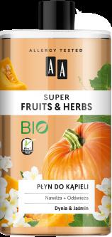 Пена для ванны AA Super Fruits And Herbs тыква и жасмин 750 мл (5900116064956)