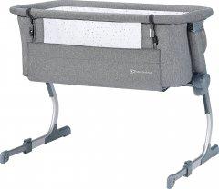 Приставная кроватка-люлька Kinderkraft Uno Up Gray (5902533915606)