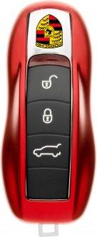 Чехол для автоключа LaManche Porsche Red (PSC-A01K_rd)