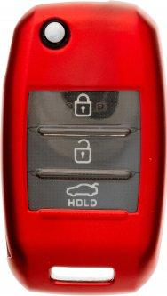 Чехол для автоключа LaManche Kia Red (KIA-B02T_rd)