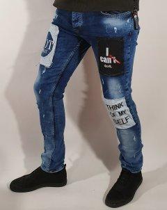 Джинси чоловічі Xway 6009 31 Синій