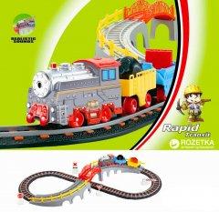 Железная дорога Lixin с поездом 90х38 см (9902)