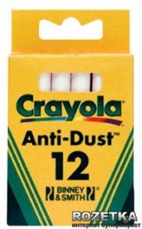 Мелки Crayola 12 шт Белые (0280) (5010065002807)