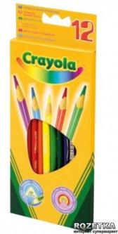 Цветные карандаши Crayola 12 шт (3612) (5010065036123)