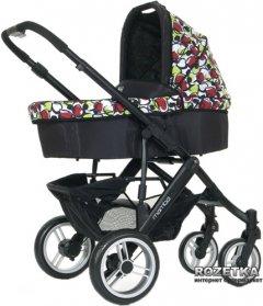 Универсальная коляска 2 в 1 ABC Design Mamba Amore nero (61028/1014)