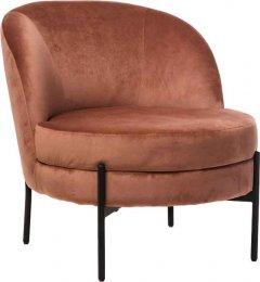 Кресло Vetro Mebel Белла Светло-розовое (Chair Bella)
