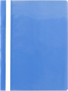 Набор папок-скоросшивателей KLERK А4 120/180 мкм прозрачным верхом микс цветов 36 шт (Я45161_KL0021_36)