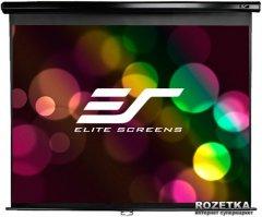 """Elite Screens настенный с механизмом возврата 113"""" (1:1) 203.2 x 203.2 (M113UWS1) Black Case"""