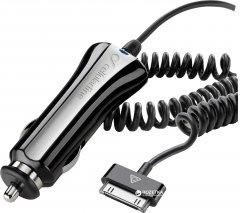 Автомобильное зарядное устройство Cellular Line iPhone 4/4S ver.1 Black (CBRIPHONE1)
