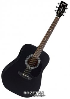 Гитара электроакустическая Cort AD810E BKS
