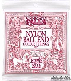 Ernie Ball Ernesto Palla Black Nylon Classical and Gold Ball End (P02409)