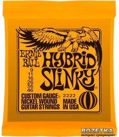 Ernie Ball Nickel Wound Hybrid Slinky (P02222)