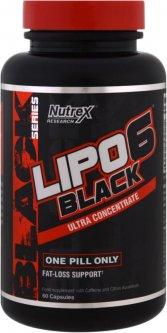 Жиросжигатель NR Lipo-6 Black Ultra Concentrate 60 капсул (857268005090)