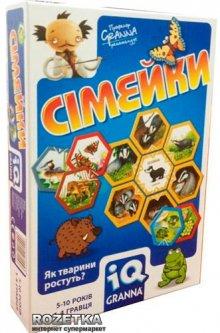 Настольная игра IQ Granna Семейки (81503)