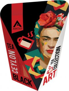 Чай черный байховый цейлонский крупнолистовой Askold Art Tea Black Ceylon Tea 65 г (4820171917848)