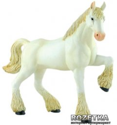 Объемный пазл 4D Master Лошадь тяжеловоз Белая (26529)