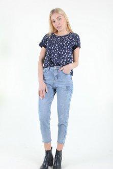 Штани жіночі Wear classic 9103 джинс (Синій L)