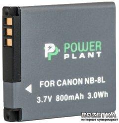 Aккумулятор PowerPlant для Canon NB-8L (DV00DV1256)