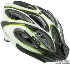 Велосипедный шлем Author Skiff 141 52-58 см Зеленый (9001261)