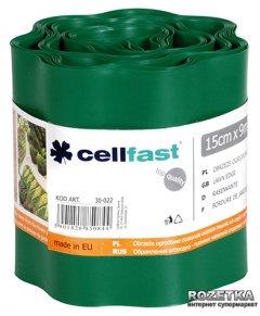 Газонный бордюр Cellfast 15x900 см Темно-зеленый (30-022H)