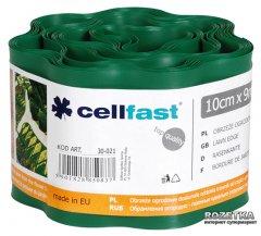 Газонный бордюр Cellfast 10x900 см Темно-зеленый (30-021H)