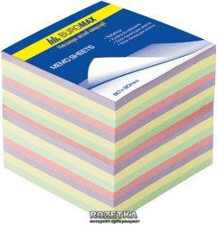 """Бумага для заметок Buromax """"Декор"""" 90x90 мм 1100 листов 4 цвета (BM.2289)"""