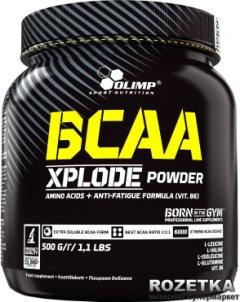 Аминокислота Olimp BCAA Xplode 500g Strawberries (5901330061011)