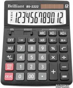Калькулятор электронный Brilliant 12-разрядный (BS-2222)
