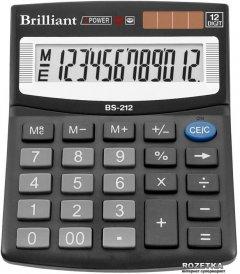 Калькулятор электронный Brilliant 12-разрядный (BS-212)