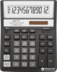 Калькулятор электронный Brilliant 12-разрядный (BS-777BK)