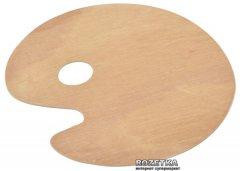 Палитра овальная D.K.Art & Craft 40 х 50 см деревянная (6926586613462)