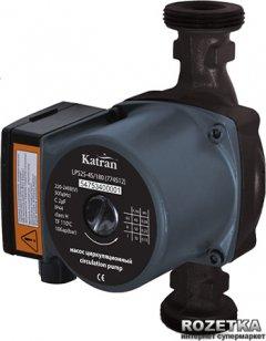 Насос циркуляционный Katran 65 Вт Hmax 4 м Qmax 63 л/мин O1? 180 м + гайки O1 (774512)