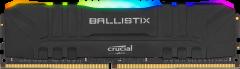 Оперативная память Crucial DDR4-3200 8192MB PC4-25600 Ballistix RGB Black (BL8G32C16U4BL)