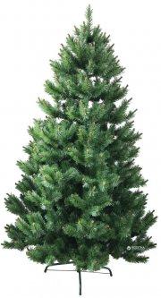 Искусственная елка Новогодько (YES! Fun) 2.10 м Карпатская плетенная Зеленая ПВХ (4820079034043)
