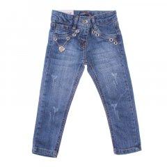 Штани джинсові для дівчинки SERCINO 59692 98 см синій (409881)