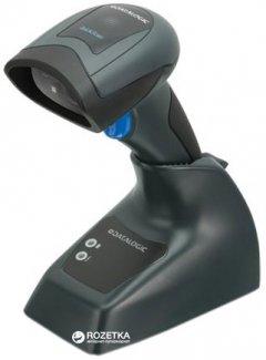 Сканер 2D штрих-кодов Datalogic QuickScan I QBT2430 с базой Black (QBT2430-BK-BTK1)