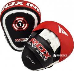 Лапы боксерские RDX Gel Focus Черно-красные (179_11001)