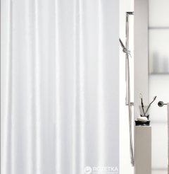 Шторка для ванной Spirella Shine 180x200 Polyester Белая (10.15636)