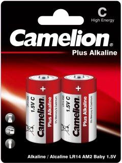 Батарейки Camelion Plus Alkaline C (LR14) 2 шт (LR14-BP2)
