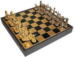 Шахматы Manopoulos Греческая мифология в деревянном футляре 54х54 см Синие (SK19BLU)